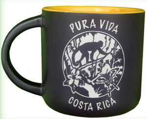 Monkey Jungle Mug Costa Rica